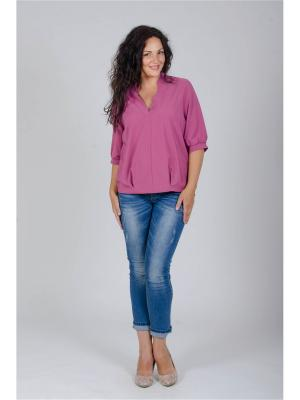 Блузка Лагуна. Цвет: розовый