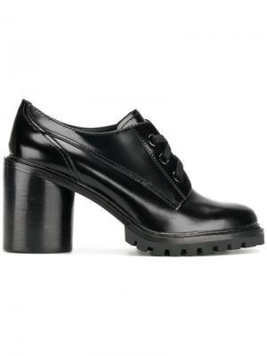 Туфли Gwen со шнуровкой Marc Jacobs. Цвет: чёрный