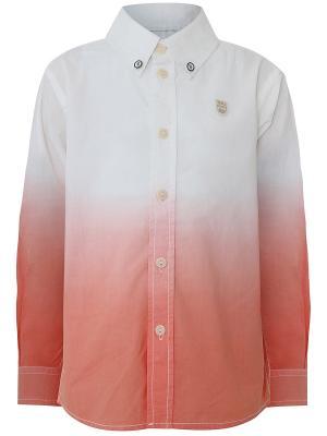 Сорочка Oodji. Цвет: персиковый