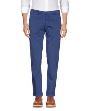 Повседневные брюки BRIGLIA 1949. Цвет: грифельно-синий
