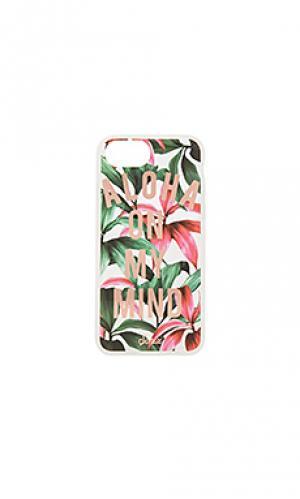 Чехол для iphone 7 aloha Sonix. Цвет: зеленый