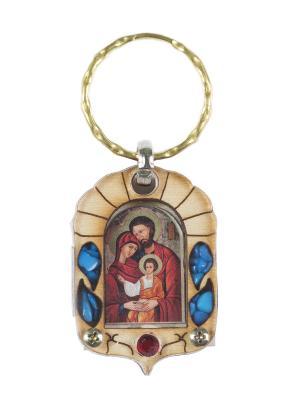 Брелок Иерусалим Святого Семейства Holy Land Collections. Цвет: бежевый