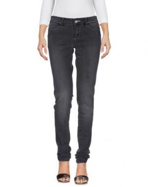 Джинсовые брюки DESIGUAL. Цвет: черный