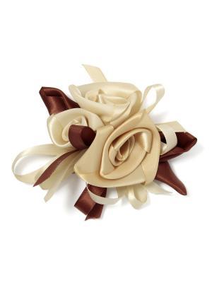 Брошь для декора Капучино (8-11см) VELD-CO. Цвет: коричневый