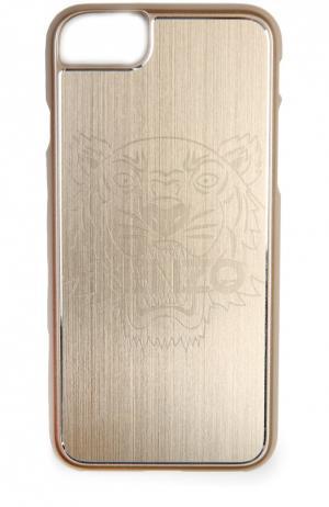 Чехол для iPhone 6S/6 с отделкой металлом Kenzo. Цвет: золотой