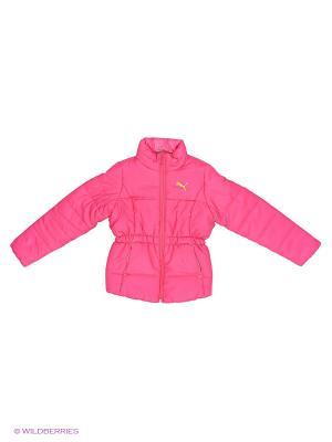 Куртка ESS Padded Jacket Puma. Цвет: розовый