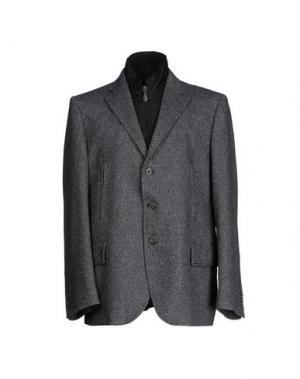 Пиджак LUIGI BIANCHI MANTOVA. Цвет: черный