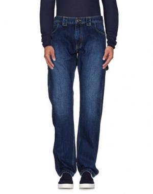 Джинсовые брюки DICKIES. Цвет: синий