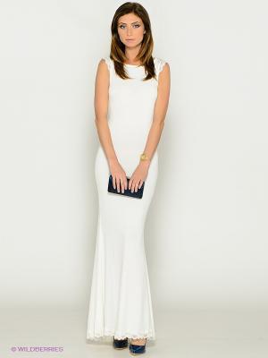 Платье MONDIGO. Цвет: молочный
