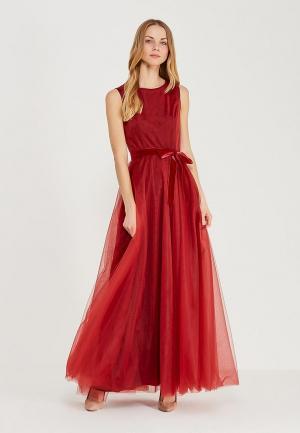 Платье Maria Golubeva. Цвет: бордовый