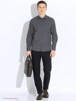 Рубашка MERC. Цвет: серый
