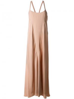 Платье Anita Var. 4 Attico. Цвет: розовый и фиолетовый