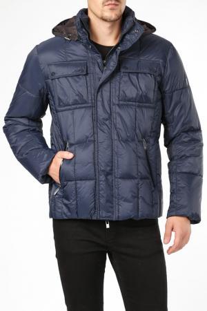 Куртка BCM. Цвет: синий