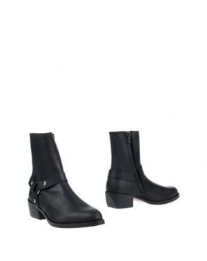 Полусапоги и высокие ботинки WON HUNDRED. Цвет: черный