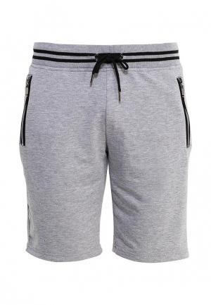 Шорты спортивные M&2. Цвет: серый