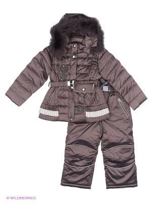 Комплект одежды RadRada. Цвет: темно-серый