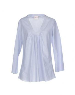 Блузка NOLITA. Цвет: небесно-голубой