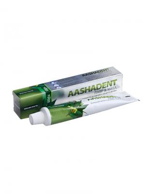 Зубная паста Лавр и Мята Aasha Herbals. Цвет: светло-зеленый