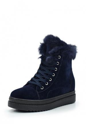Ботинки Sweet Shoes. Цвет: синий