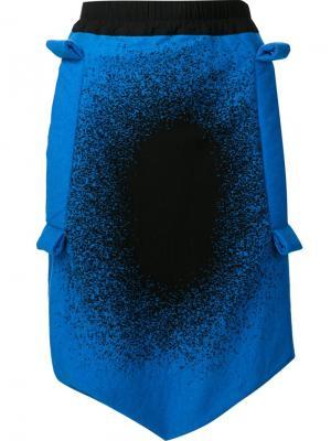 Шорты Vidal Valley Bernhard Willhelm. Цвет: синий