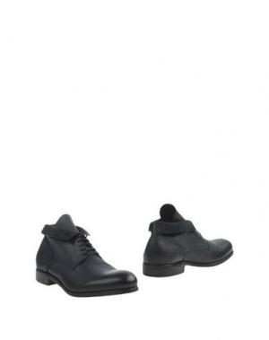 Полусапоги и высокие ботинки PAWELK'S. Цвет: темно-синий