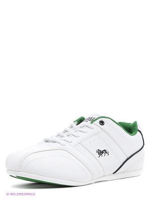Кроссовки Lonsdale. Цвет: белый, зеленый