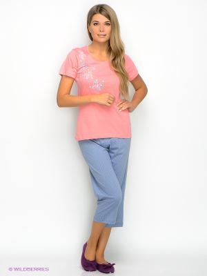 Комплект Vienetta Secret. Цвет: розовый, серый