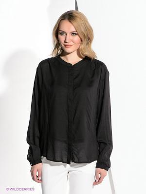 Блузка LEE. Цвет: черный