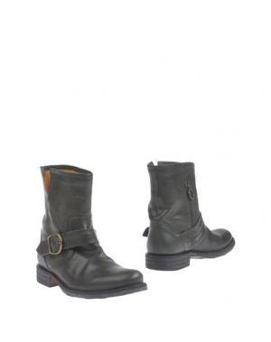 Полусапоги и высокие ботинки FIORENTINI+BAKER. Цвет: темно-зеленый