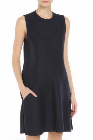 Платье Dondup. Цвет: темно-синий