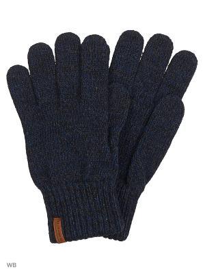 Перчатки KNITTED LEE. Цвет: темно-серый