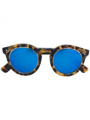Солнцезащитные очки Leonrad 2 Ring Illesteva. Цвет: коричневый