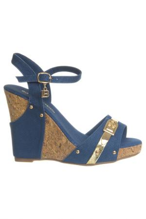 High heels sandals Laura Biagiotti. Цвет: blue