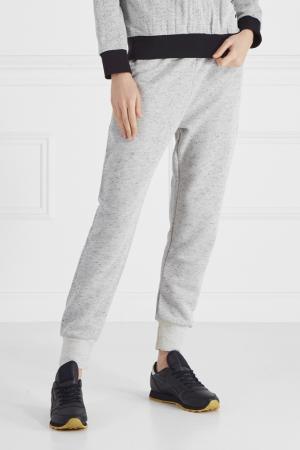 Хлопковые брюки BLANK.MOSCOW. Цвет: серый