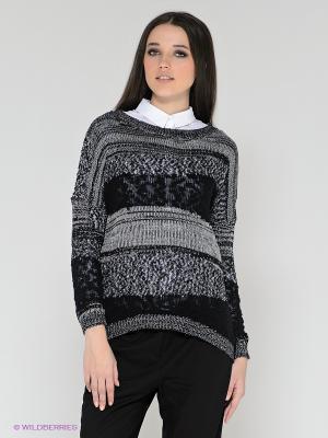 Свитер Vero moda. Цвет: черный, серый