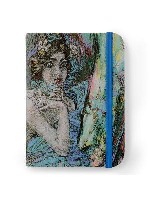Флорентийская записная книжка. Жемчужина Власта. Цвет: бежевый, зеленый, голубой