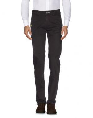 Повседневные брюки JCOLOR. Цвет: темно-коричневый