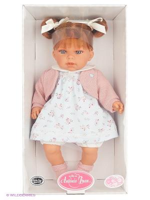 Кукла Лорена в белом,озвученная,37см Antonio Juan. Цвет: молочный