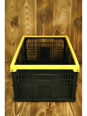Ящик складной Ермак. Цвет: черный, желтый