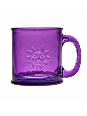 Кружка SAN MIGUEL. Цвет: фиолетовый