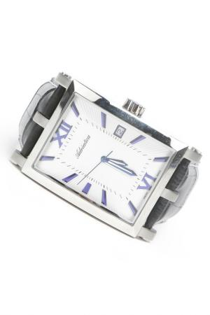 Часы наручные Adriatica. Цвет: стальной, белый