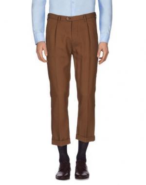 Повседневные брюки GUYA G.. Цвет: коричневый