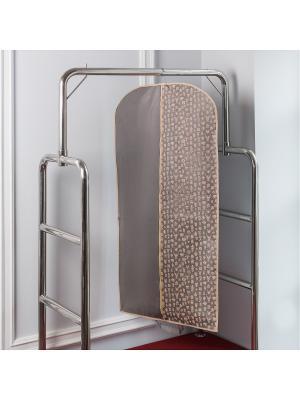 Чехол для одежды Hipster Animals (120х60 см) Homsu. Цвет: серый, бежевый