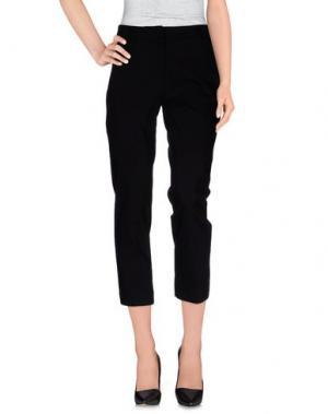 Повседневные брюки TWELVE-T. Цвет: черный