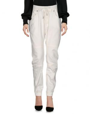 Повседневные брюки PUBLISH. Цвет: белый