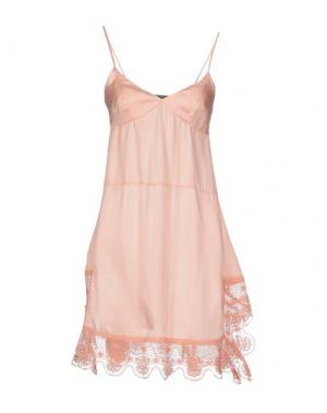 Платье до колена LE JEAN DE MARITHÉ + FRANÇOIS GIRBAUD. Цвет: лососево-розовый