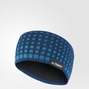 Повязка на голову TERREX  adidas. Цвет: синий