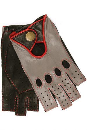 Перчатки Dali Exclusive. Цвет: черный, серый, красный