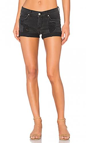 Джинсовые шорты charlie James Jeans. Цвет: none