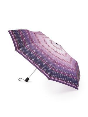 Зонт женский автомат Henry Backer. Цвет: фиолетовый